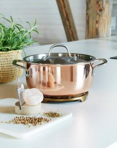 16960 - La Cucina Accanto kattila teräskannella, 5 litraa  163€