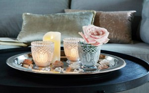 16910 - Molly kynttilälyhty harmaa, 3 kpl  19,90€